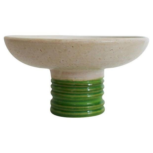 Italian Rosenthal Netter Pedestal Bowl For Sale - Image 3 of 6