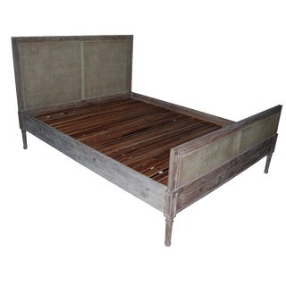 Serena & Lily Harbor Cane Queen Bed