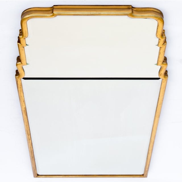 Large Queen Anne Divided Plate Mirror For Sale In Chicago - Image 6 of 12