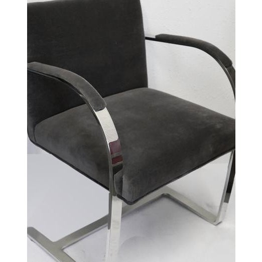 Ludwig Mies van der Rohe Pair of Knoll Brno Chairs For Sale - Image 4 of 5