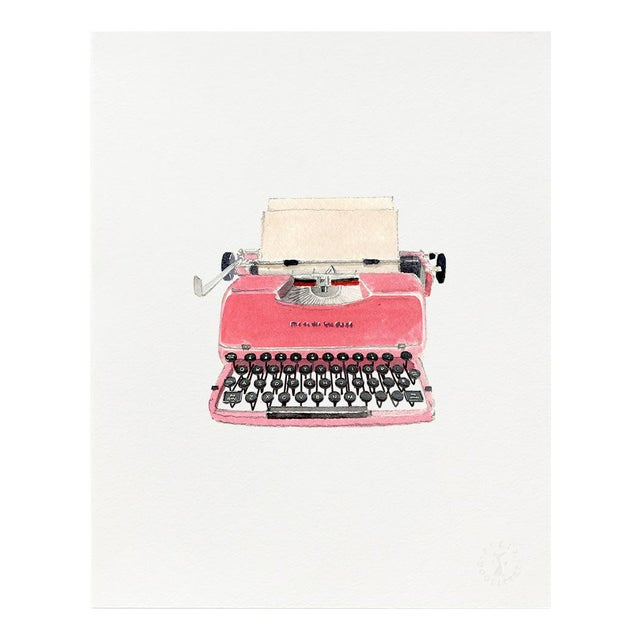 "2020s ""Retro Typewriter"" Giclée Art Print by Felix Doolittle - 8x10 For Sale - Image 5 of 5"