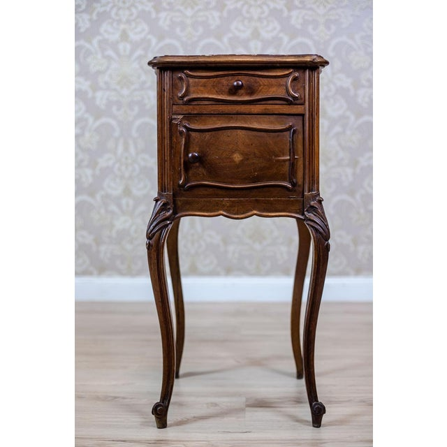 Traditional 19th-Century Louis Philippe Nightstand For Sale - Image 3 of 10