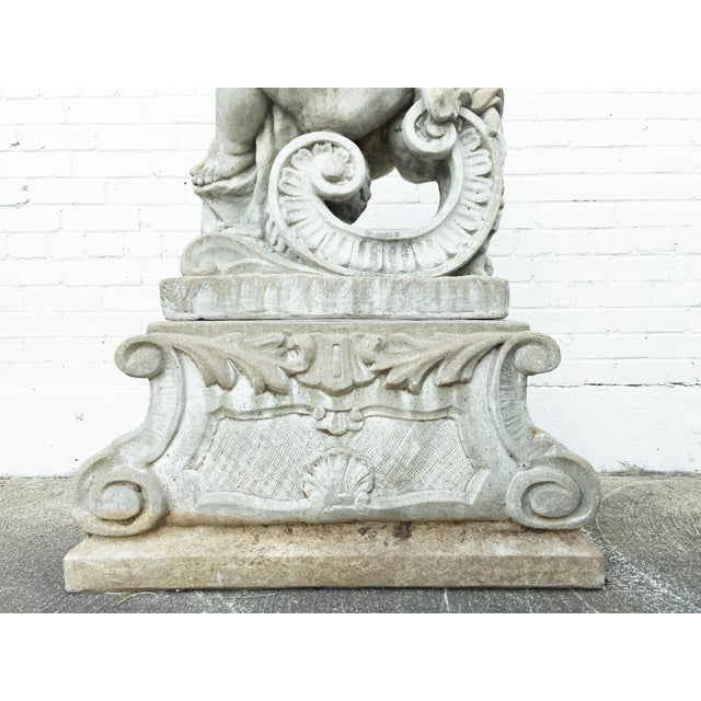 Gray A Set of Four Allegorical Putti Emblematic of the Seasons For Sale - Image 8 of 12