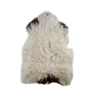 """Contemporary Long Soft Wool Sheepskin Pelt - 2'5""""x3'9"""""""