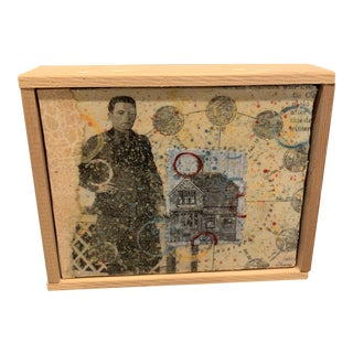 Kent Modglin Mixed Media Collage For Sale