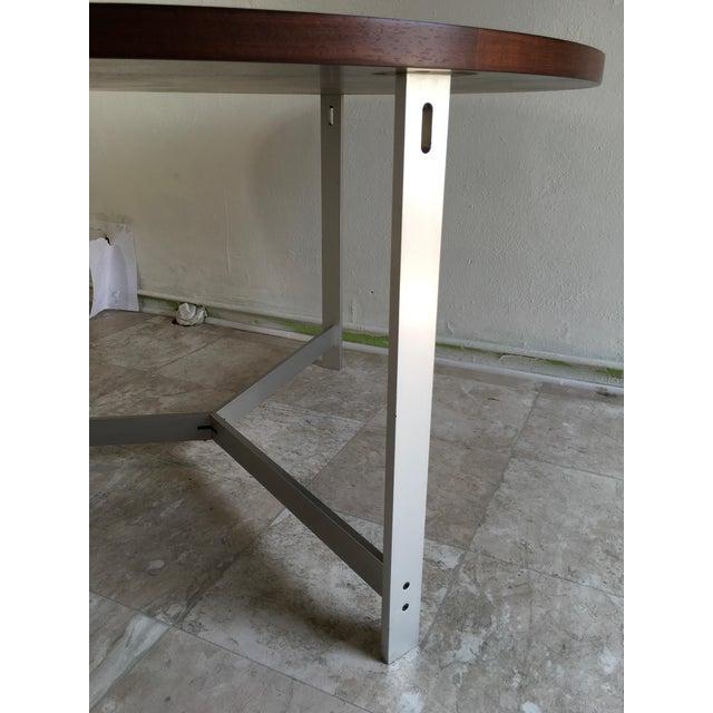 1960s 1960s Vintage Jørgen Kastholm & Preben Fabricius Rosewood and Aluminum Center Table For Sale - Image 5 of 12