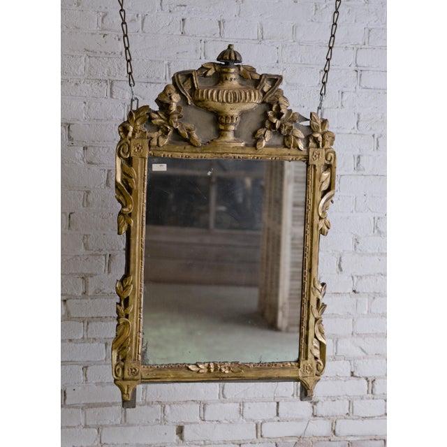 Louis XVI 18th Century Provincial Louis XVI Mirror For Sale - Image 3 of 12