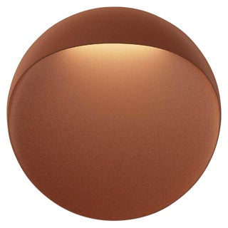 'Flindt' Indoor/Outdoor Wall Light in Cortens Red for Louis Poulsen For Sale