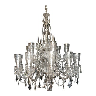Preciosia Lustry Czech Lead Crystal Estate Chandelier