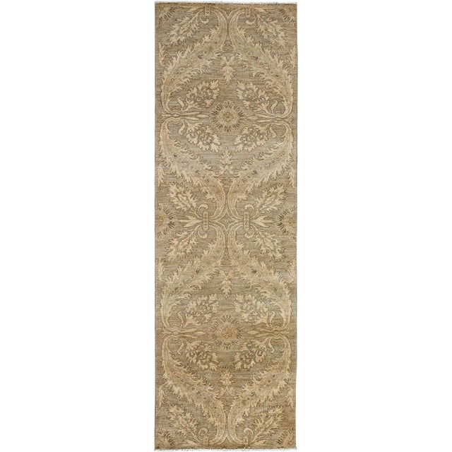 "Oushak Hand Knotted Runner - 2'7"" X 8'3"" For Sale"