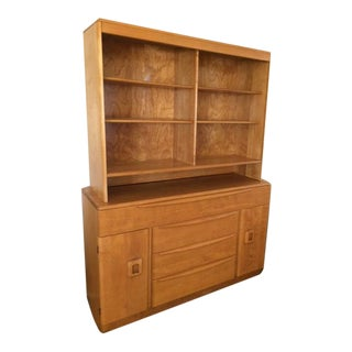 Mid-Century Modern Wood Hutch