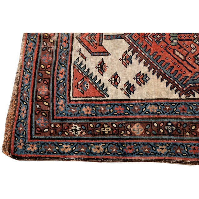 Mid 20th Century Mid 20th Century Vintage Runner Rug For Sale - Image 5 of 9