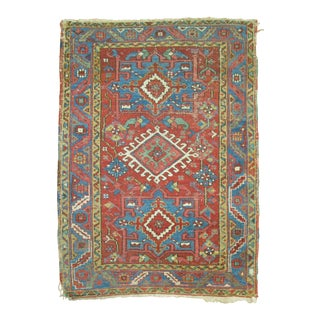 Persian Heriz Rug, 3'1'' X 4'2'' For Sale
