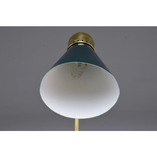 20th Century Vintage French Midcentury Table Lamp For Sale - Image 4 of 9