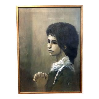 William Weintraub Portrait For Sale