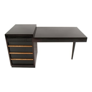 Mid-Century Modern Cantilevered Desk by t.h. Robsjohn Gibbings for Widdicomb For Sale
