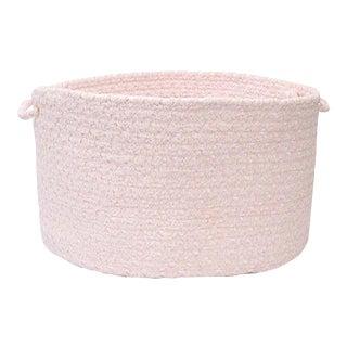 "Blokburst Blush Pink 18""x12"" Utility Basket"