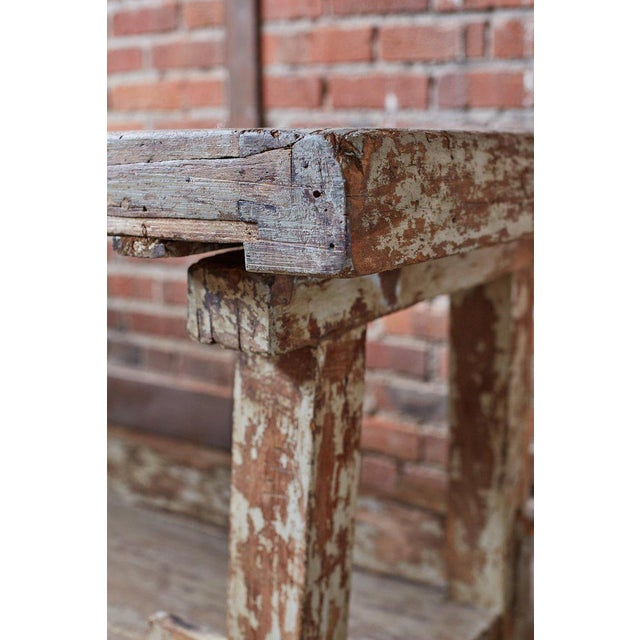 19th Century French Etabli Carpenter's Work Bench For Sale - Image 9 of 13