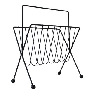 Tony Paul Mid-Century Modern Magazine Rack