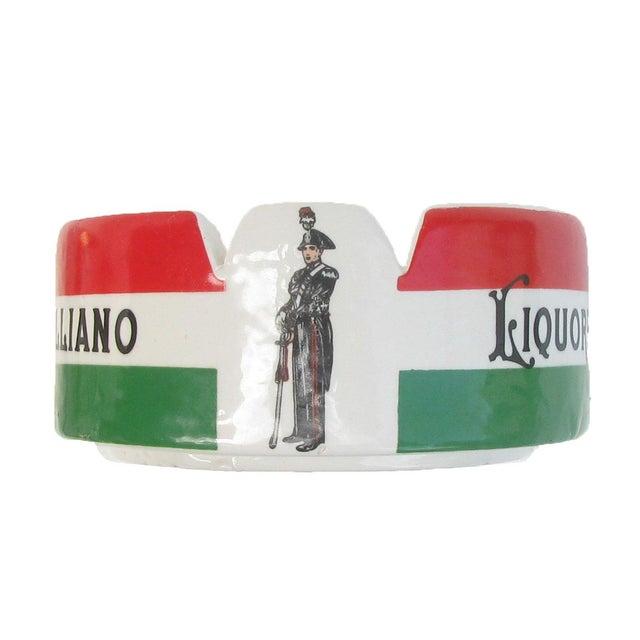 Mid-Century Modern Vintage Italian Liqueur Bistro Ashtray For Sale - Image 3 of 5