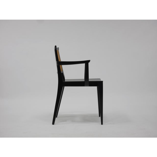 Mid 20th Century Twelve Asian Dining Chairs by Edward Wormley for Dunbar For Sale - Image 5 of 11