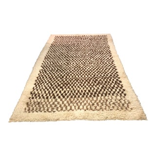Moroccan Tribal Rug - 5″ × 8″