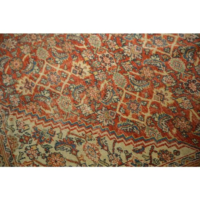 """Antique Mahal Square Carpet - 9'11"""" x 9'8"""" - Image 6 of 10"""