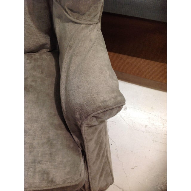 Lee Industries Lee Industries Washable Slipcover Wing Chair For Sale - Image 4 of 4