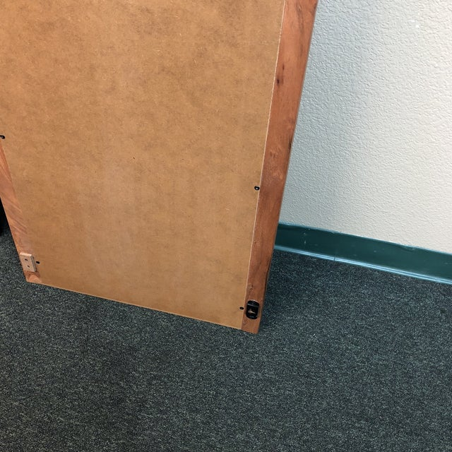 Crate Amp Barrel Live Edge Standing Mirror Chairish