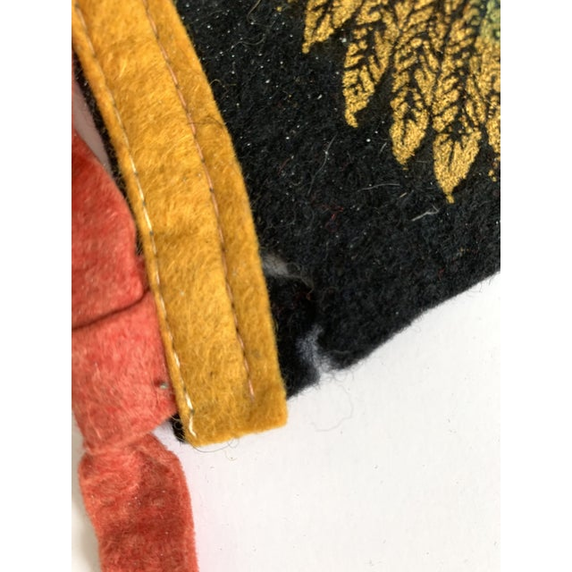 Vintage New York & New Jersey Pennant Flags - Set of 3 For Sale - Image 4 of 7