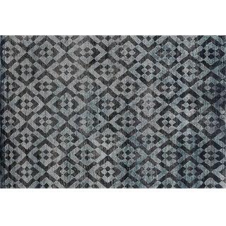 Stark Studio Contemporary New Oriental Tibetan Wool Rug - 6′ × 9′ For Sale