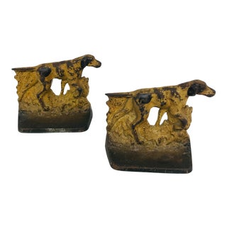 Pointer Dog Bookends - A Pair