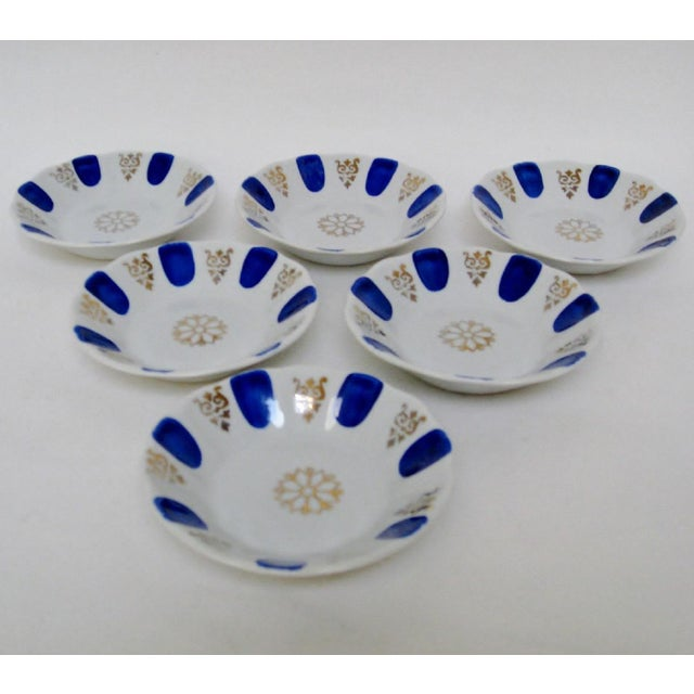 Contemporary Porcelain Dipping Bowls, Set of 6 For Sale - Image 3 of 5