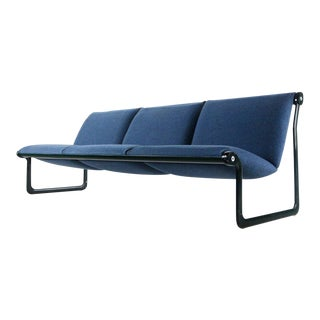 1970s Vintage Bruce Hannah and Andrew Morrison for Knoll Sling Settee Sofa For Sale