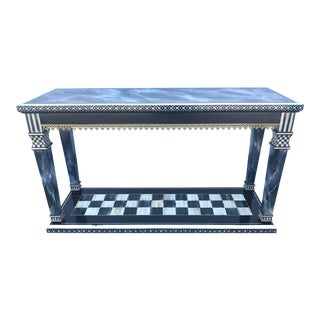 Mackenzie Childs Console Table For Sale