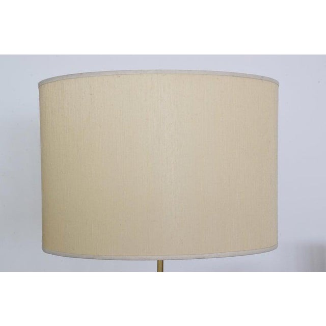 Metal 20th Century French Floor Lamp by Maison Lunel, 1950s For Sale - Image 7 of 9