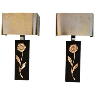 1970s Sconces by Maison Charles - a Pair For Sale