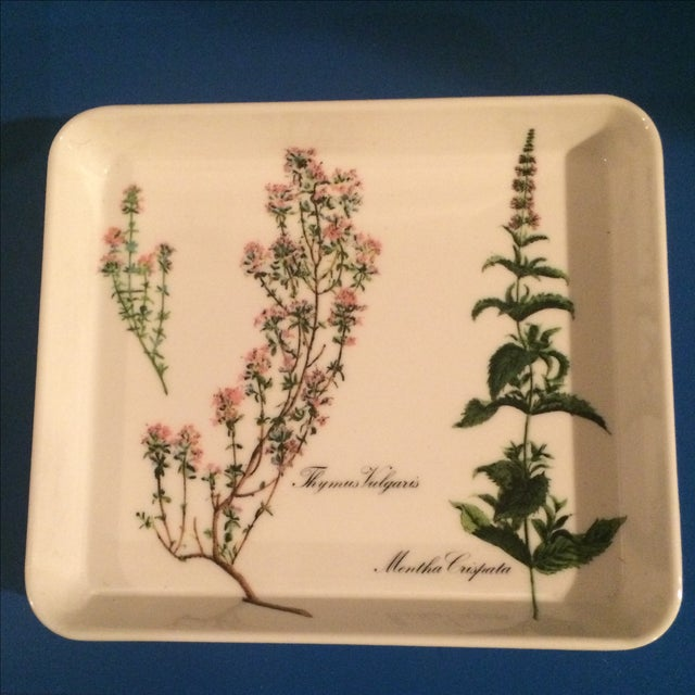 Mid Century Preppy Melamine Tray and Dish Set For Sale In New York - Image 6 of 8