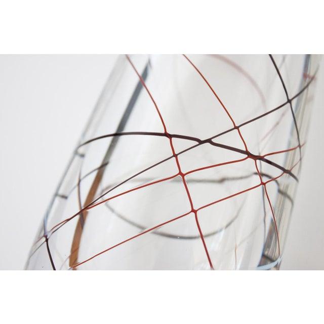 Vicke Lindstrand for Kosta Glass Vase - Image 4 of 9