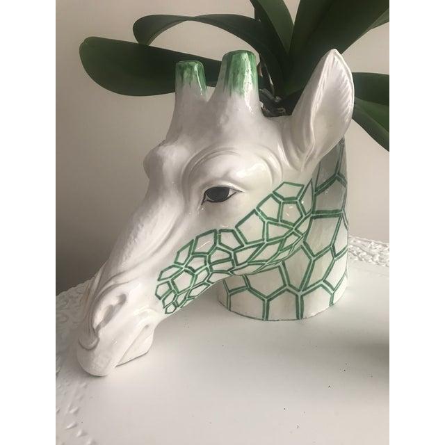 1960s Figurative Ceramic Giraffe Planter For Sale - Image 13 of 13
