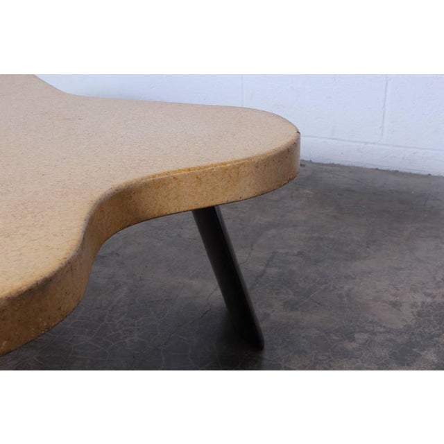 Amoeba Cork Top Coffee Table by Paul Frankl For Sale In Dallas - Image 6 of 10