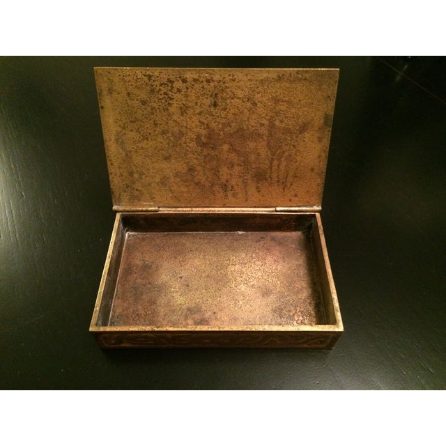 Tiffany Studios Zodiac Stamp Box - Image 3 of 6