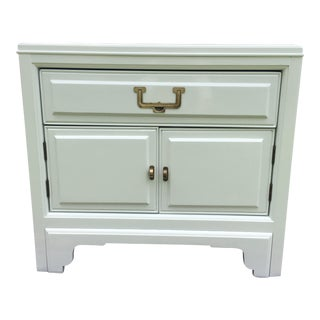 Americans of Martinsville Campaign Lacquered White Chest