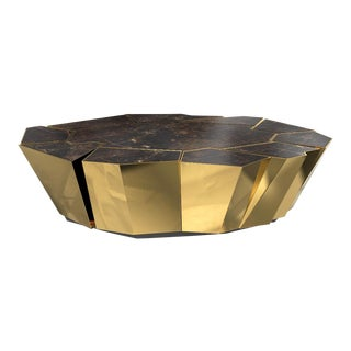 Covet Paris Crackle Coffee Table For Sale