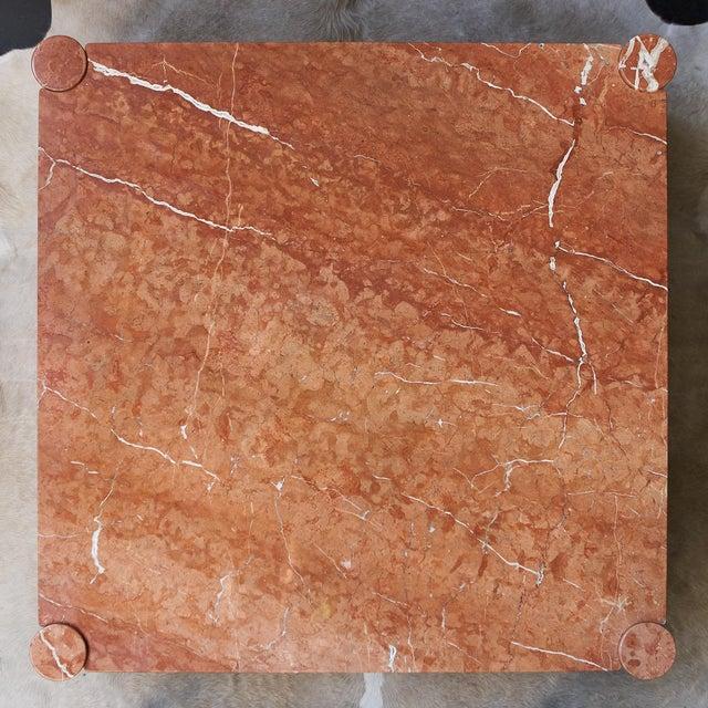 Knoll Gae Aulenti Knoll International Marble Jumbo Table For Sale - Image 4 of 5