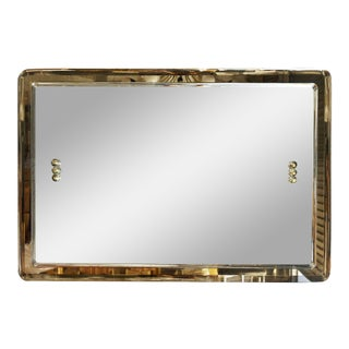 1960s Italian Rectangular Mirror For Sale