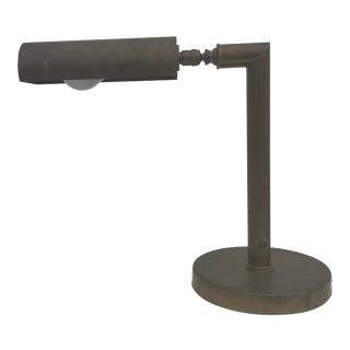 Brass Desk Lamp For Sale