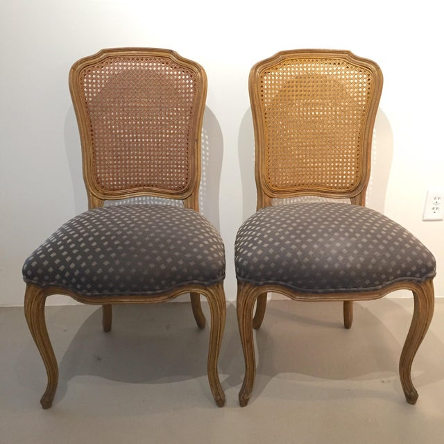 Queen Anne Caned Back Chairs - Set of 4 For Sale In New York - Image 6 of 9