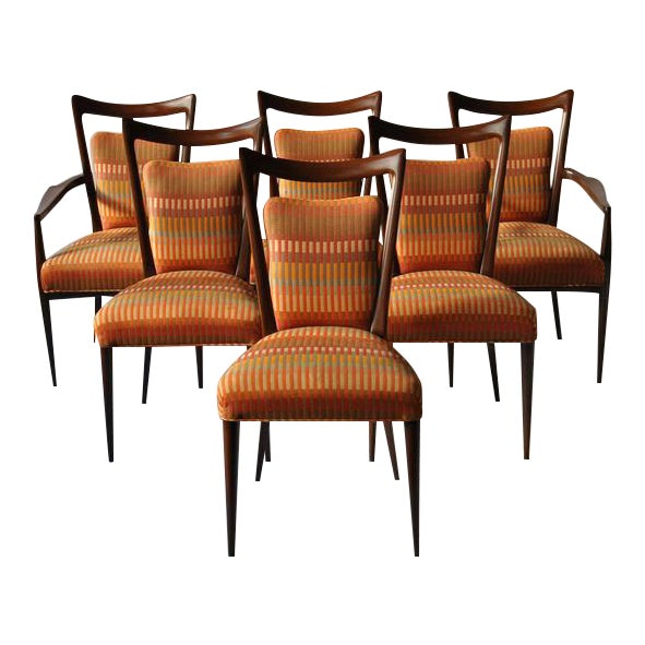 Set of Six Erno Fabry Dining Chair - Image 1 of 10