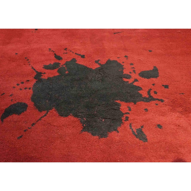 "Exclusive Wool Rug After Adolph Gottlieb, ""Burst"" For Sale - Image 4 of 5"